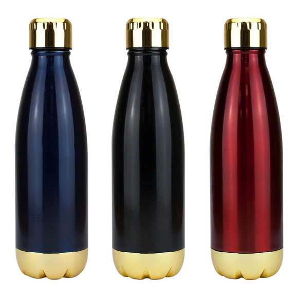 Miami Vacuum Flask  - Gold Trim - Promotions Only Group Limited