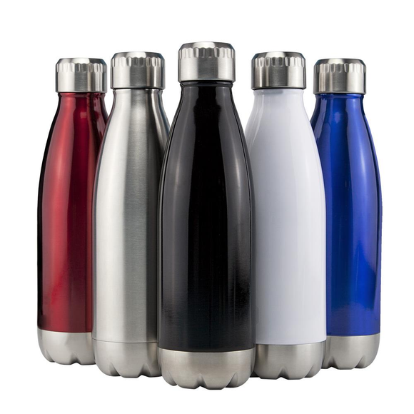 Miami Vacuum Flask Silver - Promotions Only Group Limited