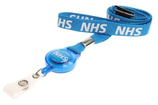 NHS Pre-Printed Retractable Lanyard