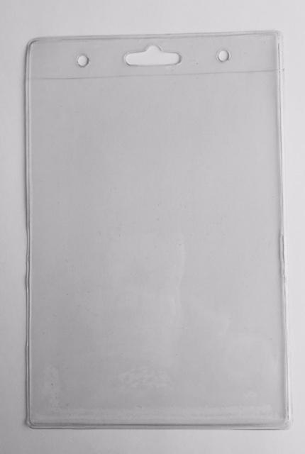 PVC Clear Plastic Card Holder C006