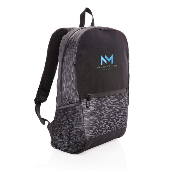 RPET Reflective Laptop Backpack - Promotions Only Group Limited