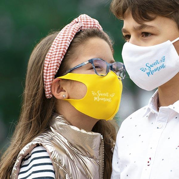 Reusable Hygienic Mask (Elastic) for Kids - Full Colour Print - Promotions Only Group Limited