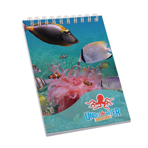 Desk-Mate® spiral A7 notebook. - Promotions Only Group Limited