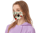 Two Layer Poly/Cotton Face Mask (Dye Sublimation) with Valve - Promotions Only Group Limited
