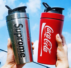 Metal Protein Shaker Double Walled 720ml - Promotions Only Group Limited