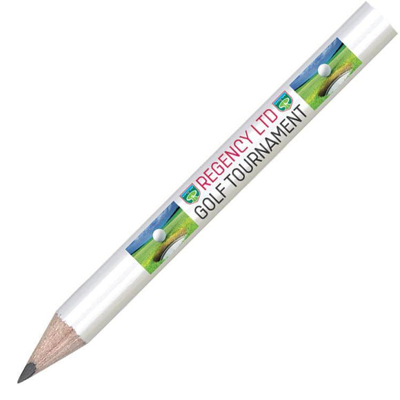 Mini Pencil without Eraser Full Colour Print