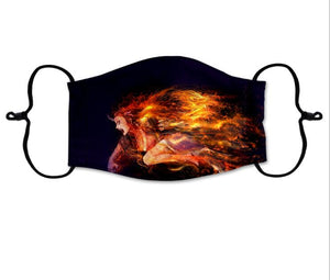Two Layer Poly/Cotton Face Mask (Dye Sublimation) - Promotions Only Group Limited