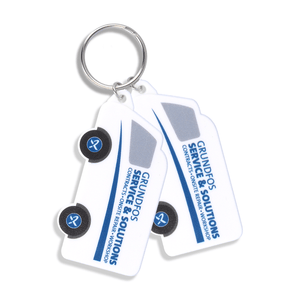 Plastic Vehicles Keyring - Van Shape - Promotions Only Group Limited