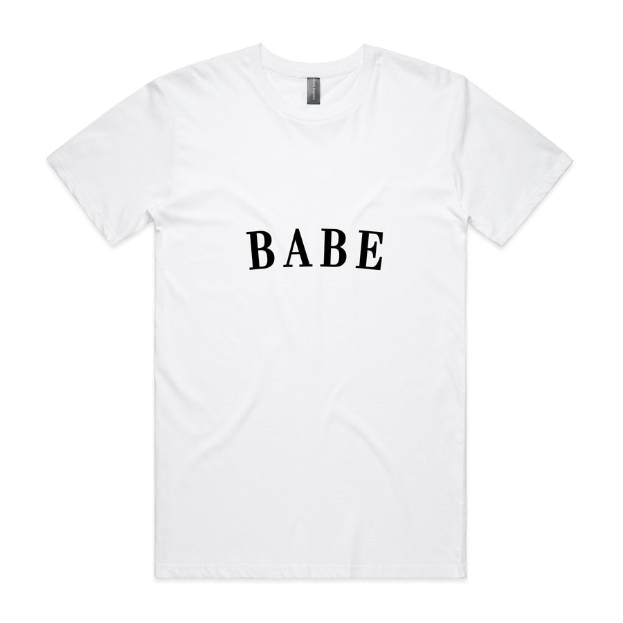 Personalised Tee - Babe - Miss Poppy Design