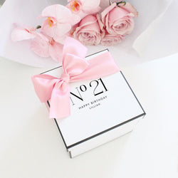 Birthday Personalised Gift Box- Square - Miss Poppy Design