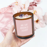 Deluxe Proposal Candle | Crystal Infused