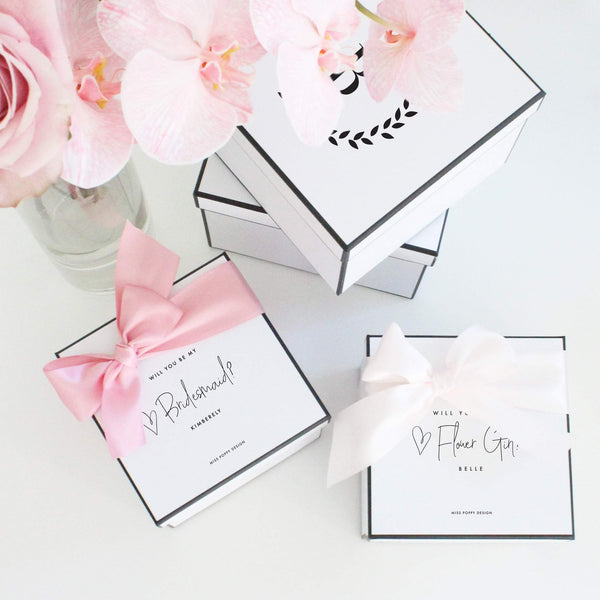 Bridesmaid Box | Bridal Proposal | Will you be my Bridesmaid Gift Box