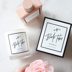 Personalised Bride Tribe Candle