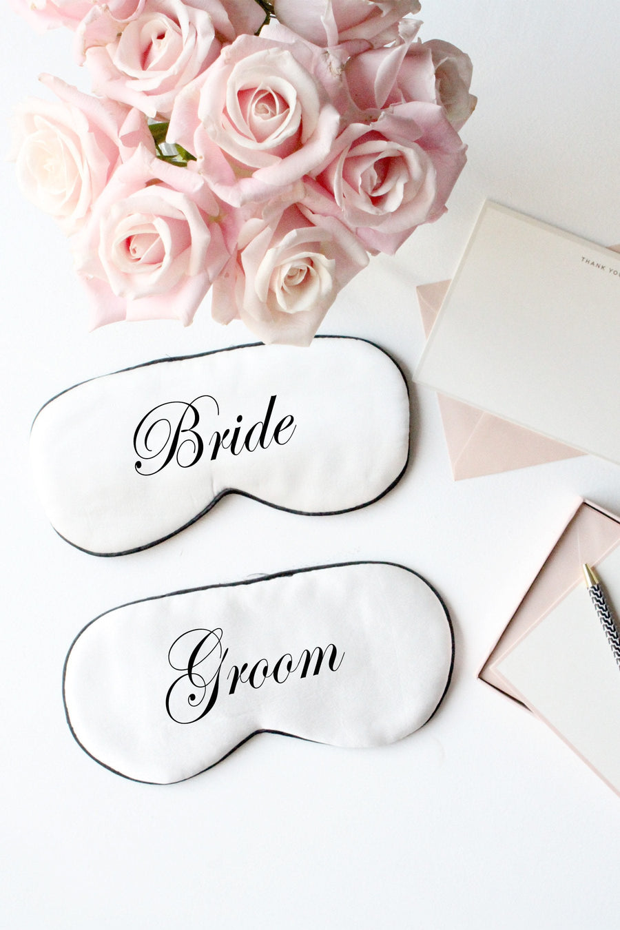 Silk Eye Mask- Bride & Groom