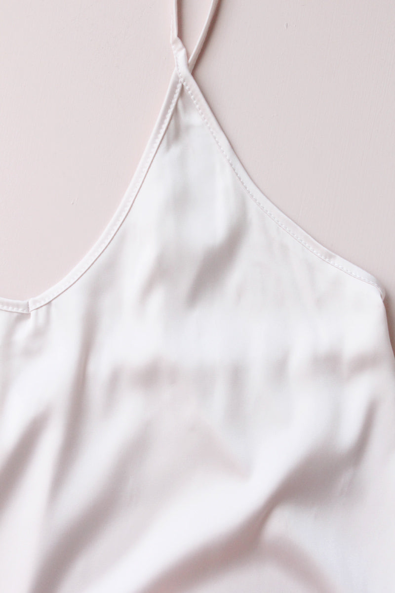 Evalie Personalised Ruffle Cami Set - Blush
