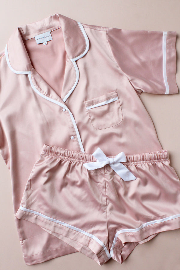 Luxe Satin Personalised Pyjamas | Custom PJ's | Personalised Sleepwear