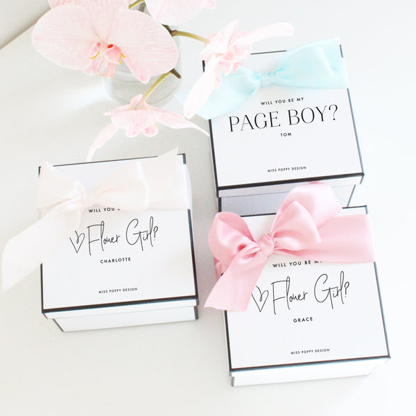 Flower Girl Personalised Gift Box
