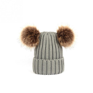 Baby/Kids Pom Pom Beanie - Miss Poppy Design
