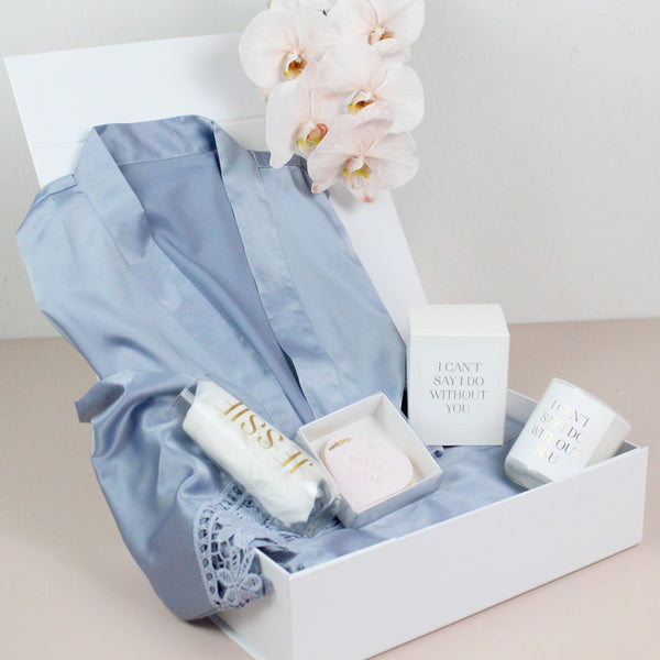 Something Blue Proposal Gift Box