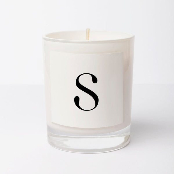 Initial Personalised Candle