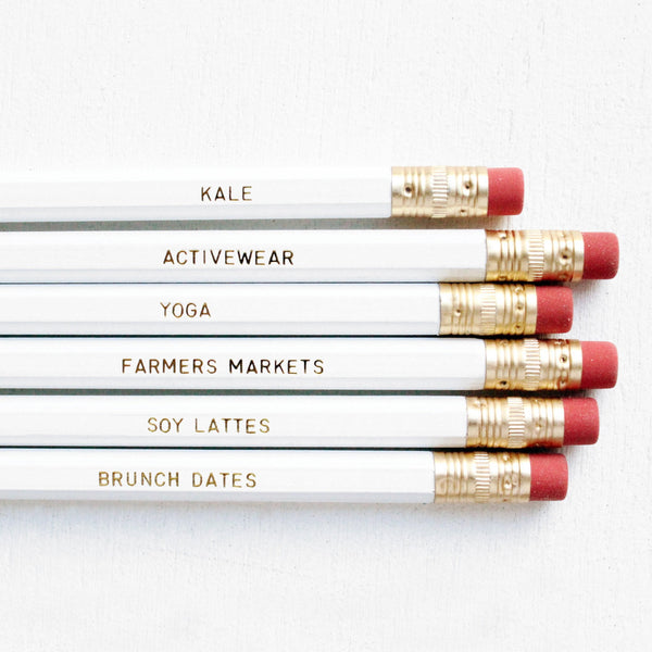 WEEKENDER PENCIL SET - Miss Poppy Design