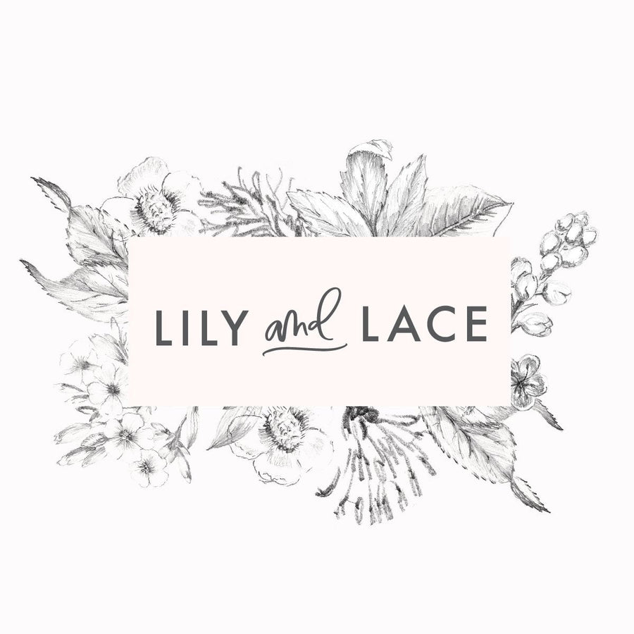 Logo Design Branding Kit - Lily and Lace