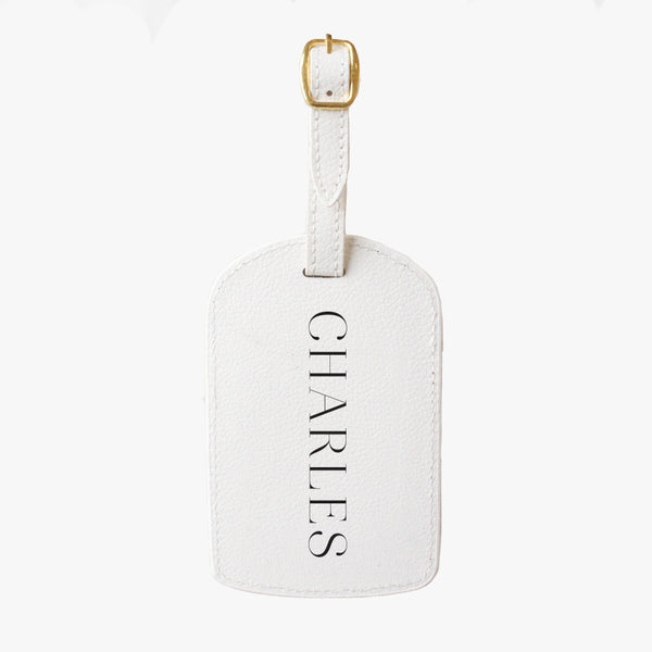 Personalised Travel Tag Vogue