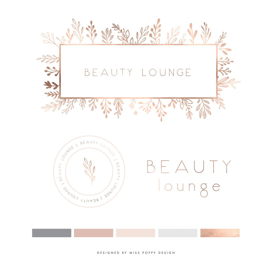 Logo Design Branding Pack - Beauty Lounge
