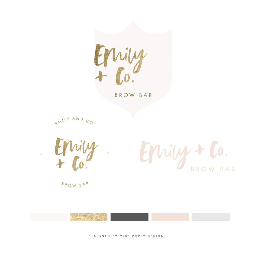 Logo Design Branding Pack - Emily & Co