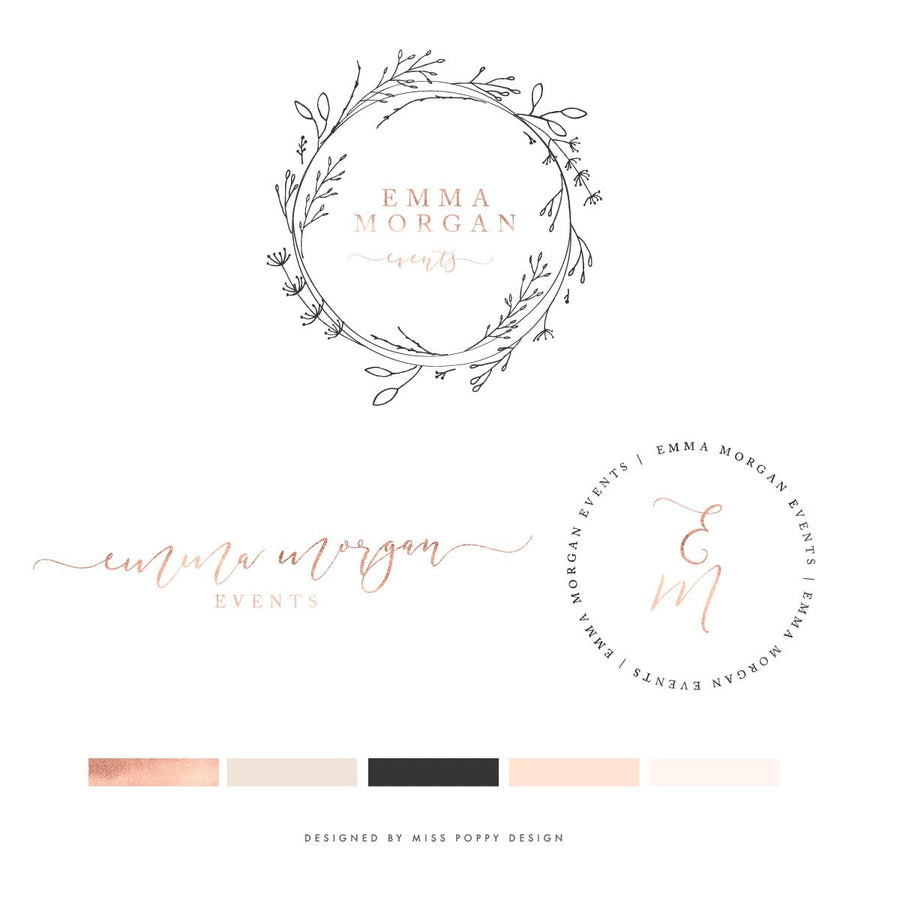Logo Design Branding Pack - Emma Morgan