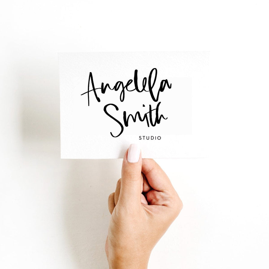 Logo Design Branding Pack - Angela Smith