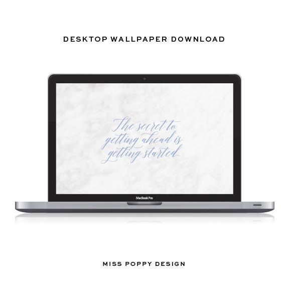 DESKTOP WALLPAPER- GETTING STARTED - Miss Poppy Design