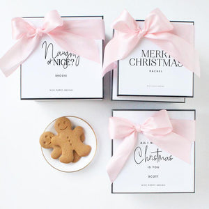 Personalised Christmas Gift Box - Miss Poppy Design