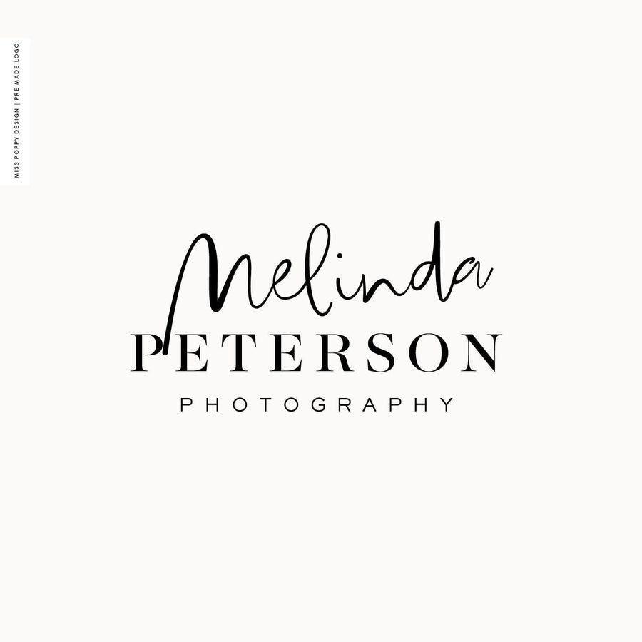 Logo Design Branding Kit - Melinda Peterson