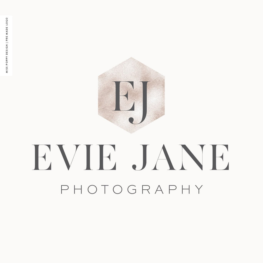 Logo Design Branding Kit - Evie Jane