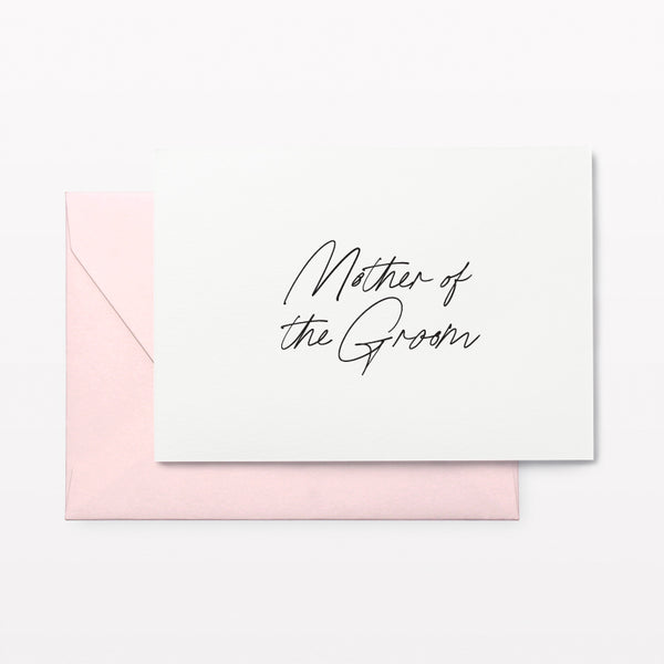 Mother of the Groom Card