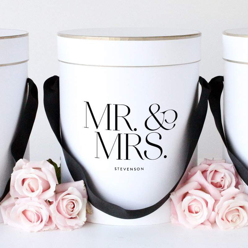 Mr. & Mrs. Personalised Gift Box