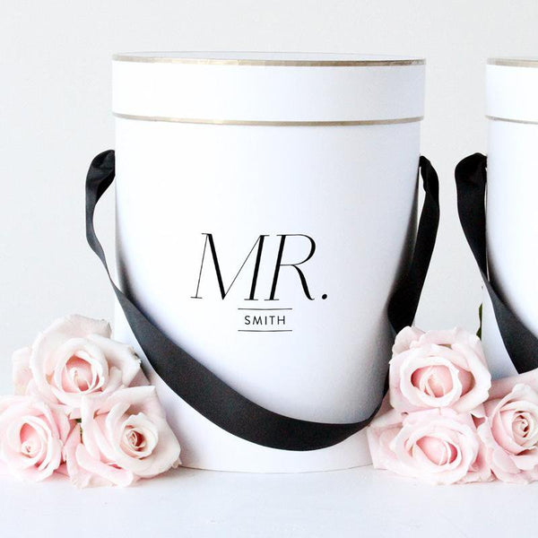 Mr. Personalised Gift Box - Miss Poppy Design