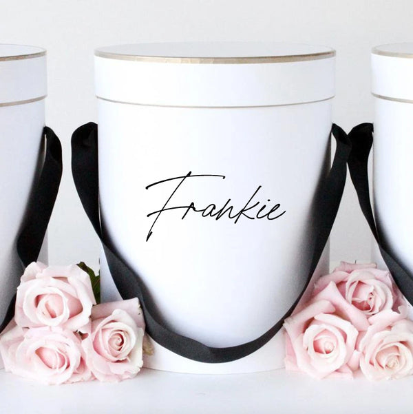Personalised Gift Box | Flower Box Melbourne | Bridesmaid Boxes