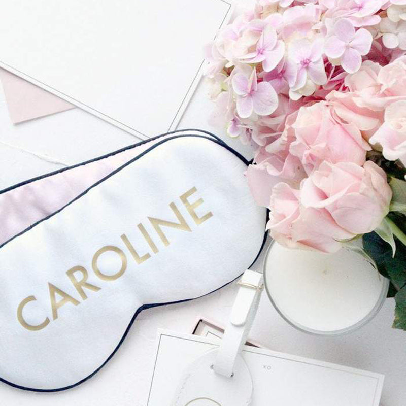 Personalised Silk Eye Mask