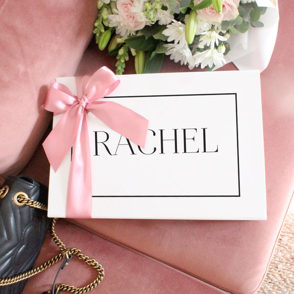 Name Personalised Gift Box- Rectangle