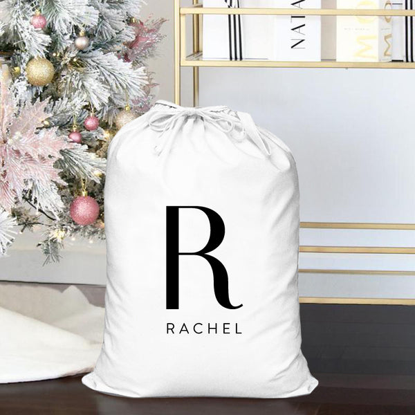 Personalised Christmas Sack - Initial
