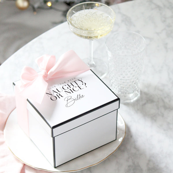 Personalised Christmas Gift Box | Personalised Christmas Gifts
