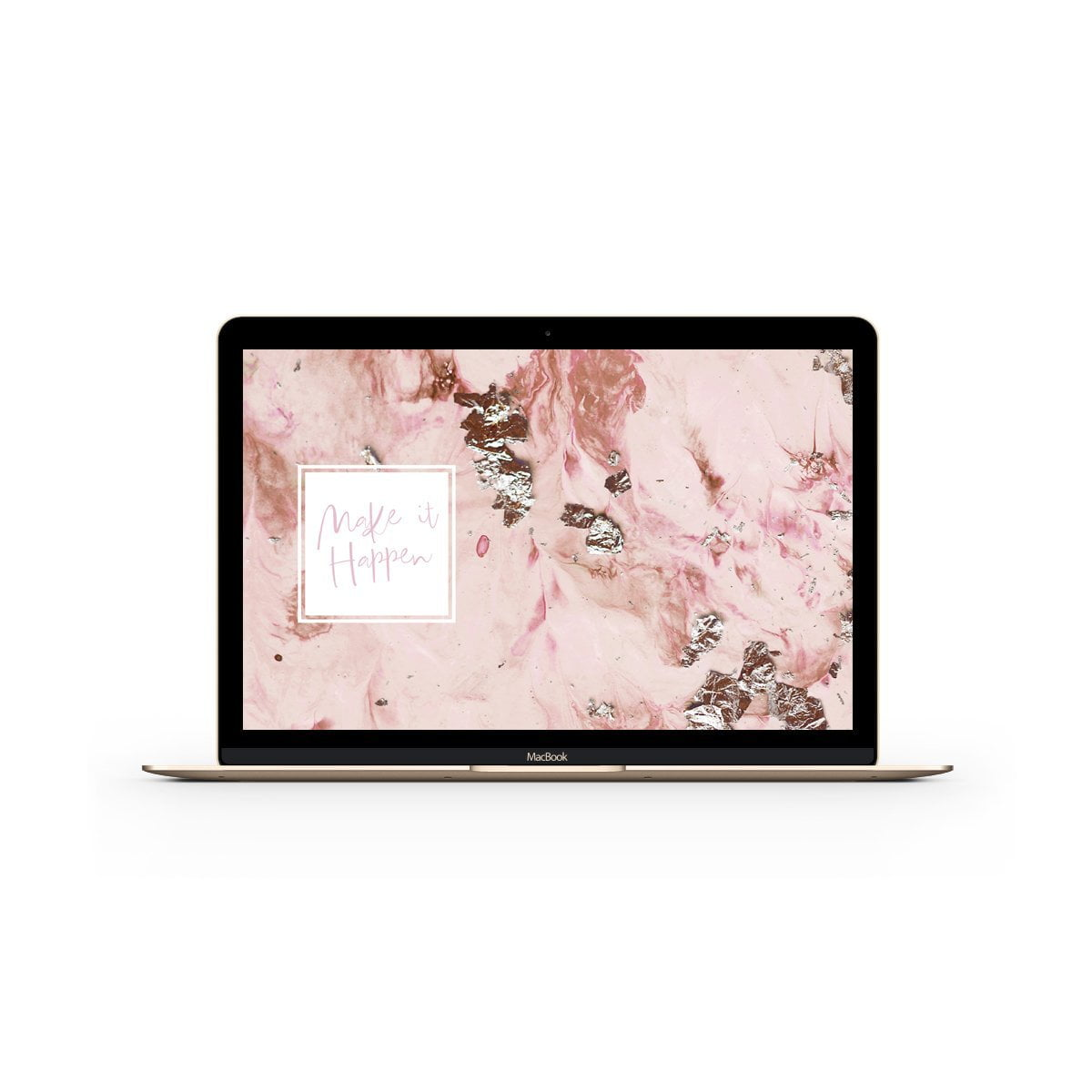 DESKTOP WALLPAPER ROSE GOLD
