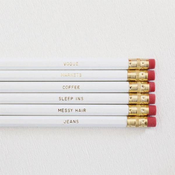 SUNDAYS PENCIL SET - Miss Poppy Design