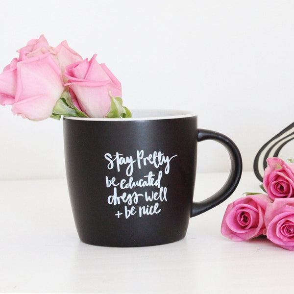 Daily Reminders Mug - Miss Poppy Design