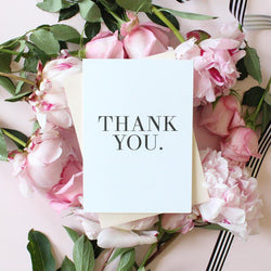 THANK YOU- CARD SET - Miss Poppy Design