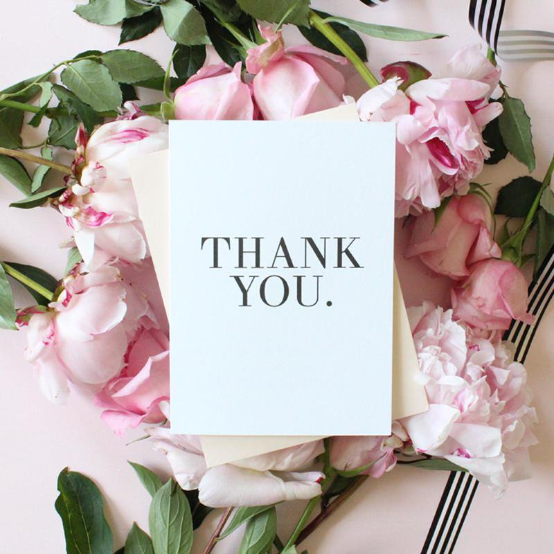 THANK YOU- CARD SET