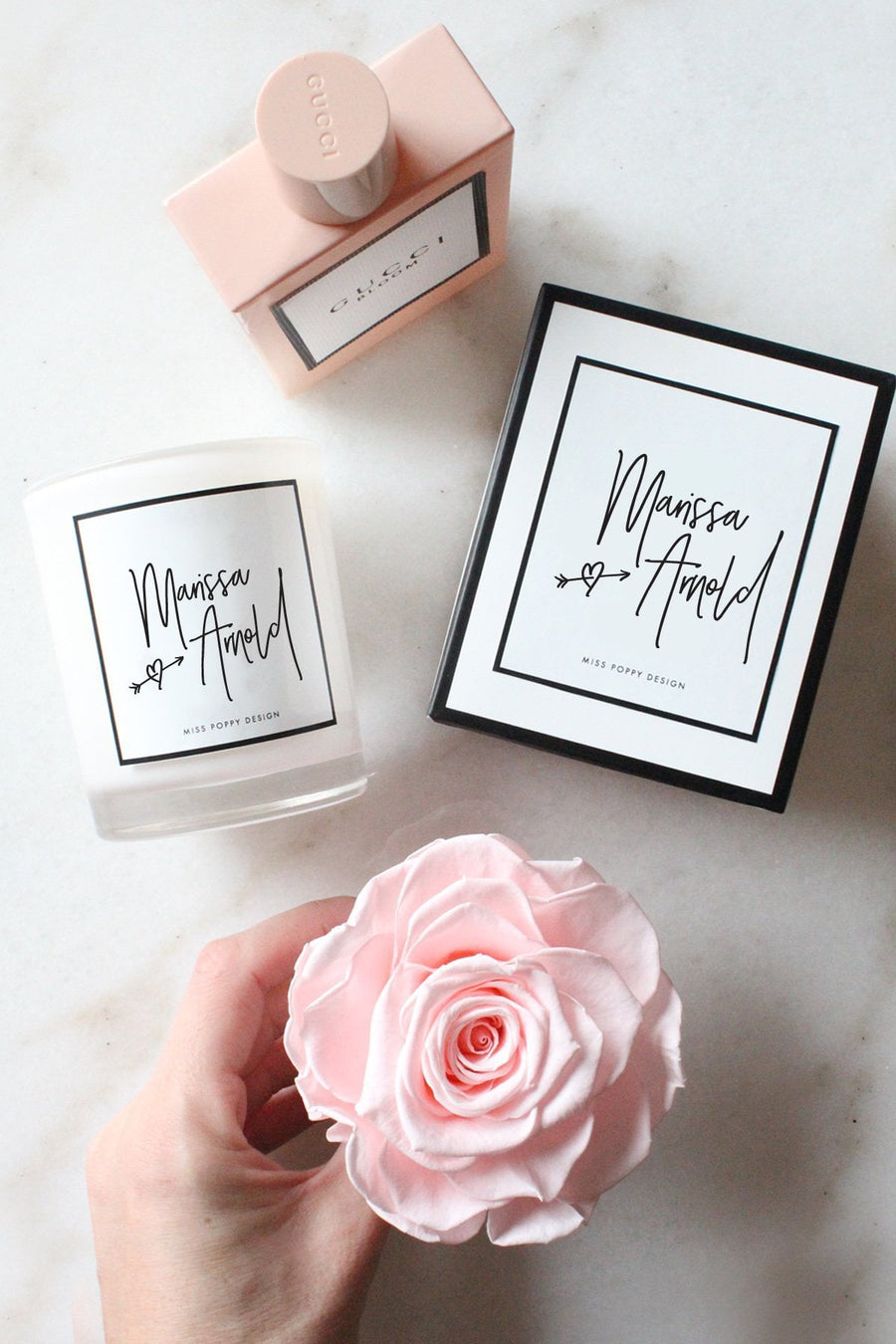 Mini Candles - Miss Poppy Design