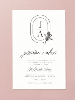 Wedding Invitation - Elegant